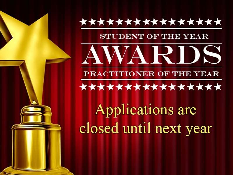 Awards are closed until next year